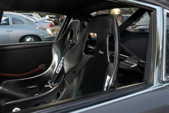 Porsche 911 RSR, carbon fiber seats, cars&coffee