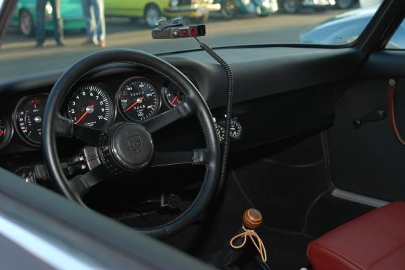Cars&Coffee,Porsche 911 RSR interior
