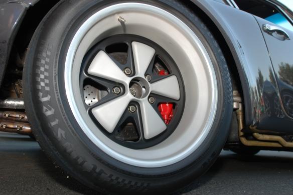"Porsche 911 RSR, 17"" wheels at cars & coffee"
