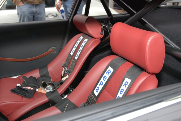 Porsche 911 RSR _interior photo_cars&coffee