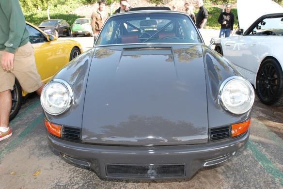Cars & Coffee, 1970 Porsche 911 gray RSR