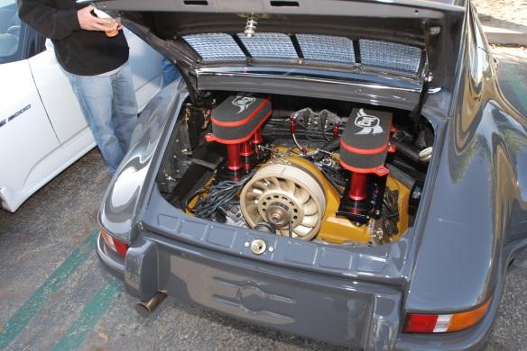 Cars&Coffee,1970 Porsche 911 gray RSR
