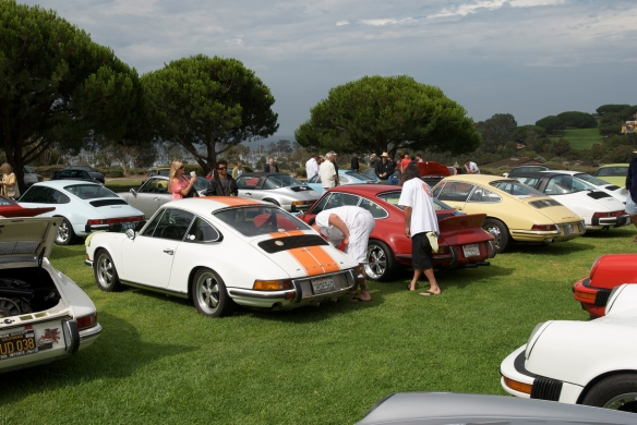 911's at 356 club concours_dana point 2011