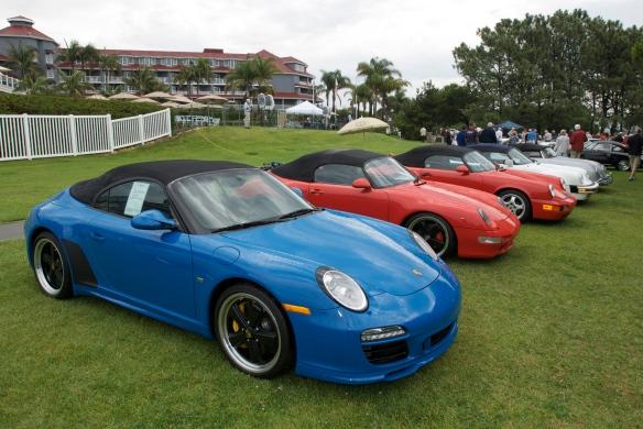 Porsche 911 speedsters,dana point concours_2011