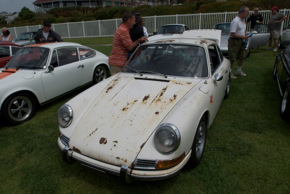 1967 Porsche 911, barn find, dana point concours_july 2011