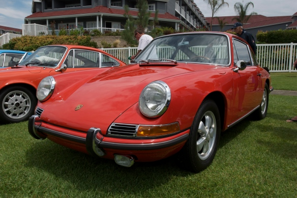 1966 Porsche 911, dana point comcours_2011
