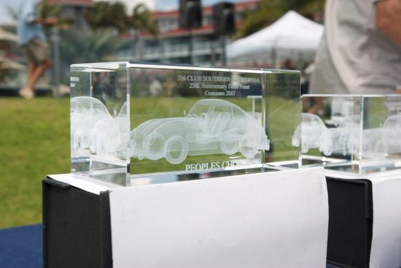 crystal trophy, Porsche 356 dana point concours_2011