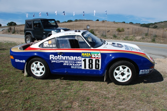 Porsche 959 Rally car, Rennsport Reunion 4_ 10/14/11
