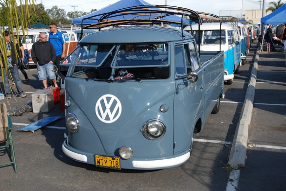 VW single cab, O.C.T.O. winterfest, OCtober 2011