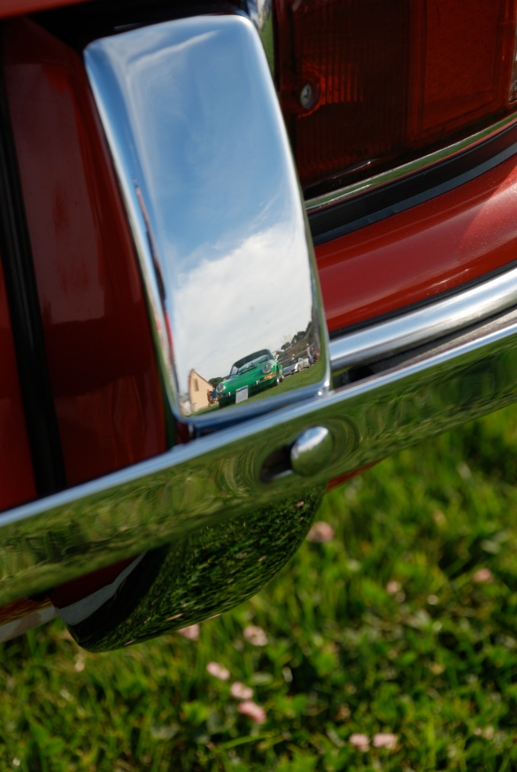 1965 911 coupe_bumper  / overrider reflection_Rennsport Reunion 4_10/15/11