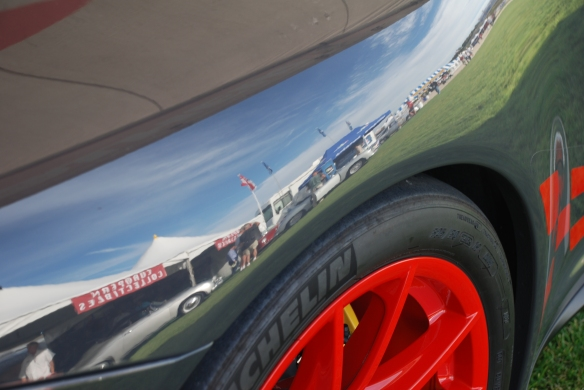 Mothers Porsche 911 GT3RS_w/fender reflection_Rennsport Reunion 4_10/15/11