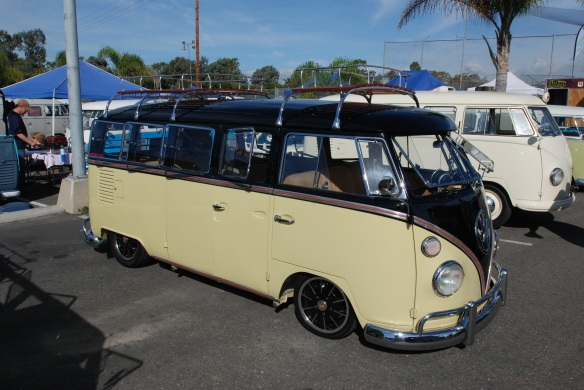 VW bus, custom,O.C.T.O. fest, October 2010