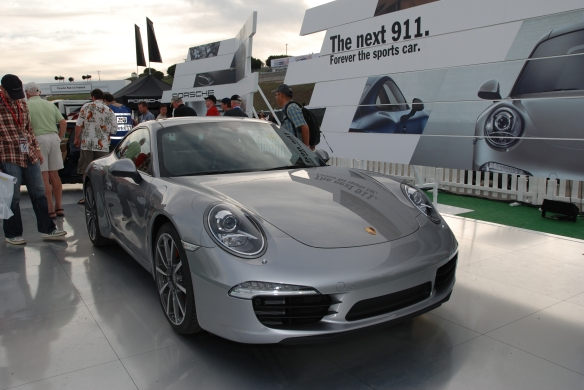 Porsche 911 (type 991) 2012 _Rennsport Reunion 4_10/14/11