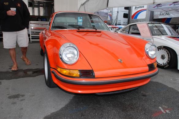 Brumos Porsche _Peter Gregg's 1972 911 sportomatic_Rennsport Reunion 4_10/15/11
