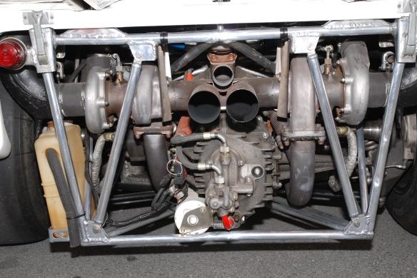 Brumos Porsche _917/10 motor _Rennsport Reunion 4_10/15/11