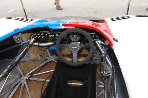 Brumos Porsche _917/10 cockpit _Rennsport Reunion 4_10/15/11