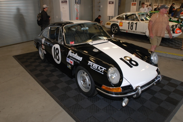 1964 Porsche 911 race car_Rennsport Reunion 4_10/15/11