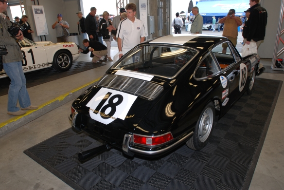 1964 Porsche 911 race car_ Rennsport Reunion 4_10/15/11