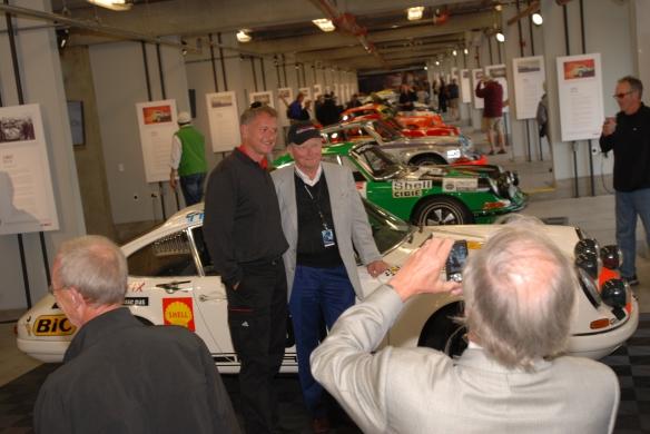 Dr. Wolfgang Porsche at Rennsport Reunion _10/15/11