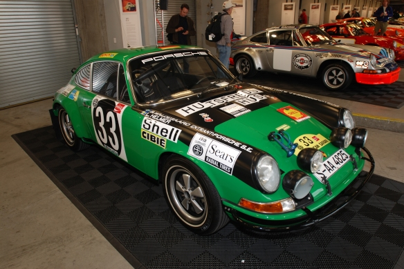1971 911 STR / East Africa Rally car_Porsche Rennsport Reunion 4_10/15/11