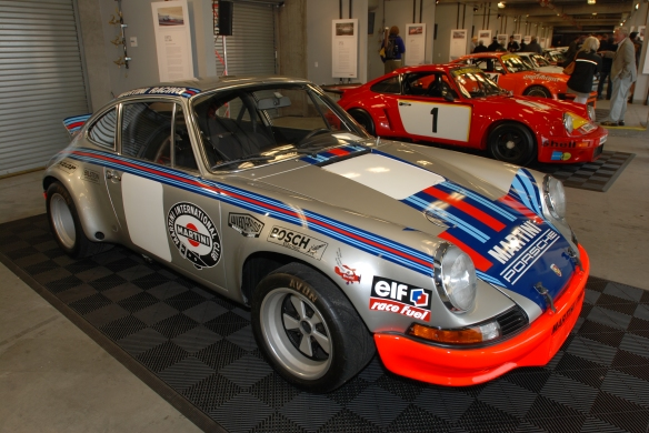1973 Carrera RS_Martini Racing graphics_Rennsport Reunion 4_10/15/11