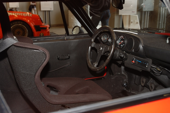 1974 Porsche 911 RSR_Interior shot_Rennsport Reunion 4_10/15/11
