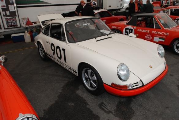 1966 Porsche 911 #901_Rennsport Reunion 4_10/15/11
