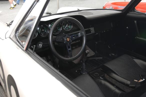 1966 Porsche 911 #901_Interior_Rennsport Reunion 4_10/15/11