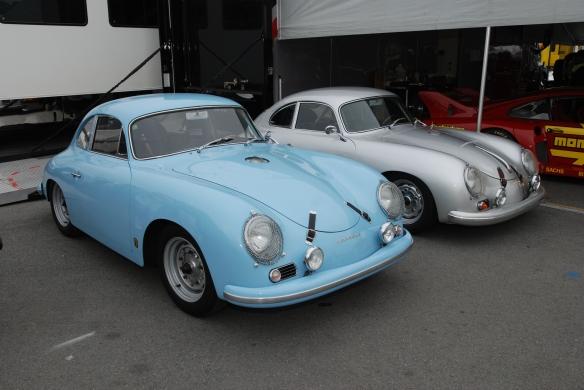 356's in paddock_Rennsport Reunion 4_10/15/11