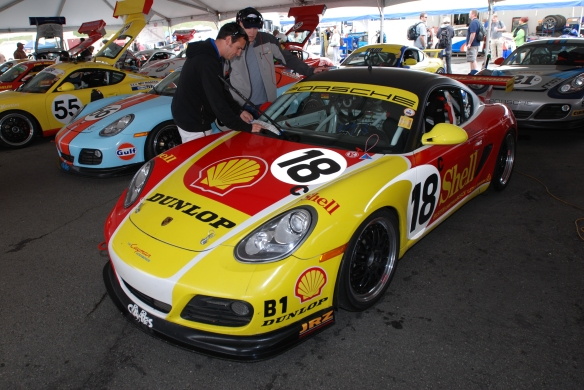 Porsche Cayman/ Cayman Interseries_Rennsport Reunion 4_10/16/11