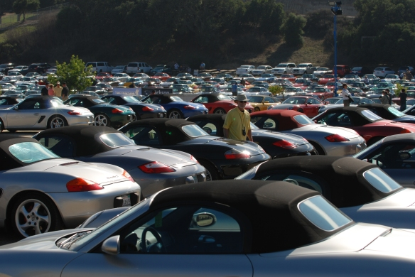 Boxsters & 911's _Rennsport Reunion 4_10/15/11