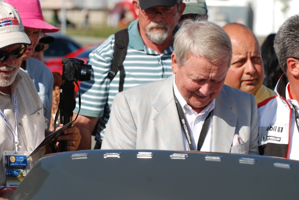 Dr. Wolfgang Porsche@ PCA hospitality tent_Rennsport Reunion 4_10/15/11