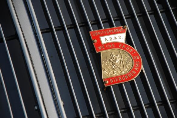 Porsche 356 grill badge_Rennsport Reunion 4_10/15/11