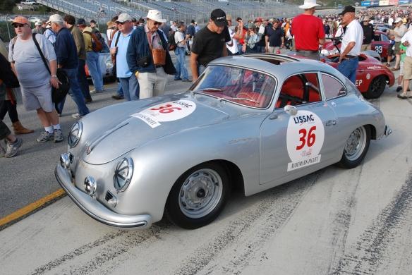 1957 Porsche 356_pit lane concours _Rennsport Reunion 4_10/15/11