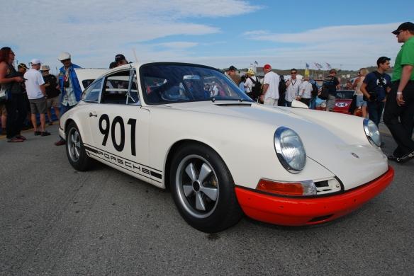 1966 Porsche 911_pit lane concours_Rennsport Reunion 4_10/15/11