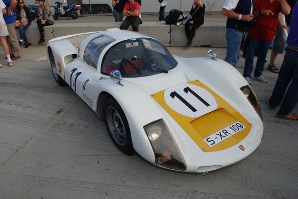 Porsche 906/Jeff Zwart_pit lane concours_Rennsport Reunion 4_10/15/11