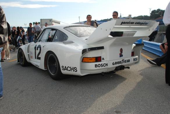 1979 Porsche 935 /Bruce Canepa_pit lane concours_Rennsport Reunion 4 _10/15/11