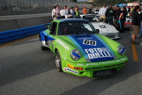 1974 Porsche 911 RSR_Rennsport Reunion 4_10/16/11
