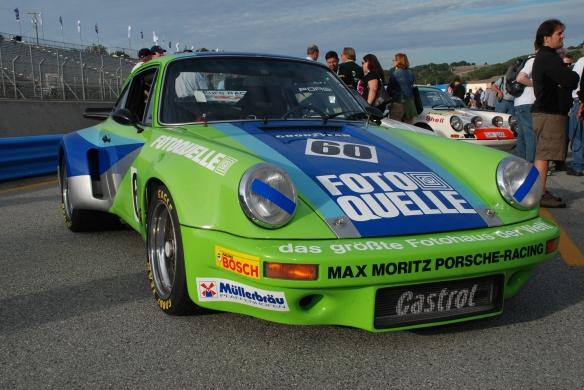 1974 Porsche RSR_pit lane concours_Rennsport Reunion 4_10/15/11