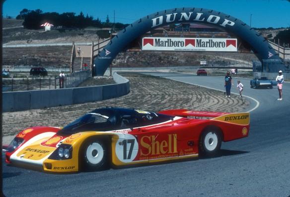 Shell Porsche 956,Laguna Seca_Aug90