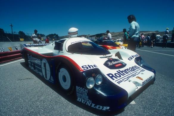 Rothmans Porsche 956,Laguna Seca_Aug90