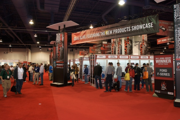 New Products_Ideas Alive Showcase_SEMA show_November 2011