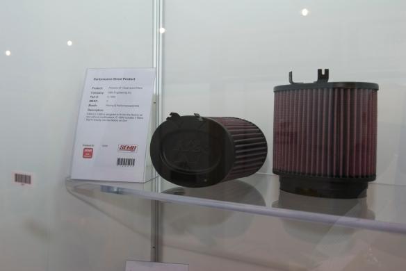 K&N_Porsche 911 Dual round air filters_SEMA show_November 2011