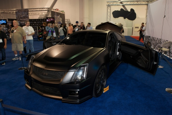 West Coast Customs_Justin Bieber's Cadillac CTSV_The SEMA Show_11/3/11