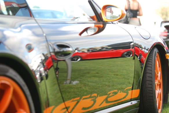 GT3RS reflections_Mothers display_Rennsport Reunion 4_10/16/11
