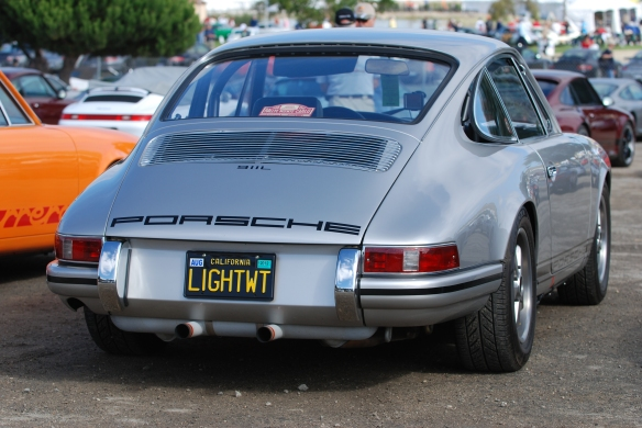 1968 911L_Porsche Corral parking _Rennsport Reunion 4_10/16/11