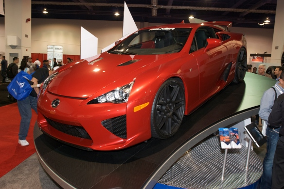Lexus LFA_Falken Tires display_The SEMA Show_11/3/11