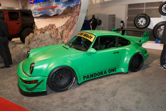 RAUH-WELT Porsche_Falken tire display_The SEMA Show_11/3/11