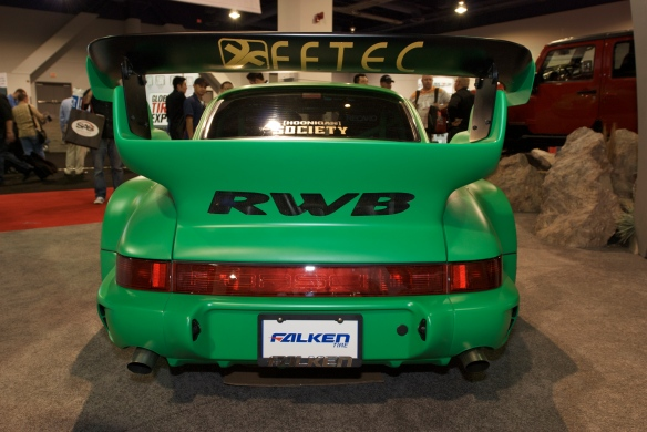 RUH-WELT Porsche 964_Falken Tire display_The SEMA Show_11/3/11