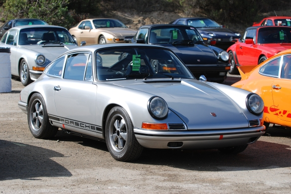 1968 911L_Porsche corral parking_Rennsport Reunion 4_10/16/11